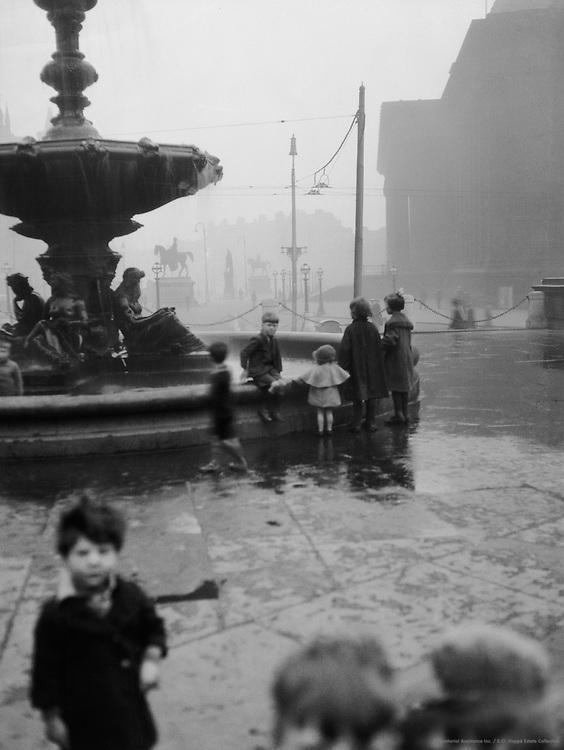 Fountains, Liverpool, Lancashire, England, 1925