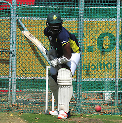 Cape Town-180321 Proteas fast bowler Lungi Ngidi during a practice session at Newlands cricket stadium.The Proteas will play their third test against Australia this weekend .Photograph:Phando Jikelo/African News Agency/ANA