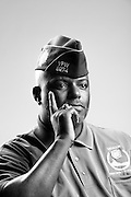 Ronald D. Portis, Jr. <br /> Marine Corps<br /> E-5<br /> Combat Engineer<br /> July 1984 - Apr. 1994<br /> Operation Sharp Edge<br /> Operation Desert Shield, Desert Storm<br /> <br /> Veterans Portrait Project<br /> St. Louis, MO
