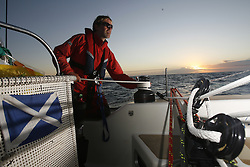 Journey aboard the Glasgow Clipper from 14th and final race of the Clipper Round the World Race Cork to Liverpool.<br /> RTW sailor Andrew Sheppard (53)