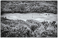 05-11-2017  Foto's genomen tijdens een persreis naar Buffalo City, een gemeente binnen de Zuid-Afrikaanse provincie Oost-Kaap. East London Golf Club - Hoogteverschillen par-3
