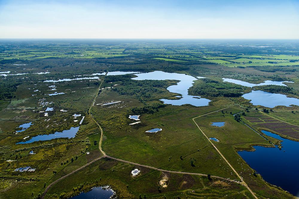 Nederland, Noord-Brabant, Gemeente Asten, 23-08-2016; Nationaal Park De Grote Peel.<br /> National Park De Grote Peel.<br /> <br /> aerial photo (additional fee required); <br /> luchtfoto (toeslag op standard tarieven);<br /> copyright foto/photo Siebe Swart