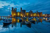 Caernafon and North Wales castles