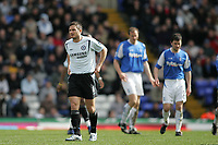 Photo: Lee Earle.<br /> Birmingham City v Chelsea. The Barclays Premiership. 01/04/2006. Chelsea's Frank Lampard (L) looks dejected as they fail to beat City.