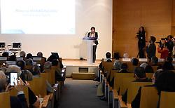 March 29, 2019 - Paris, France - Roxana Maracineanu ( Ministre des Sports ) au colloque national pour un sport sans dopage (Credit Image: © Panoramic via ZUMA Press)