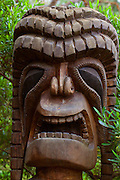 Tiki, Kula Botanical Garden, Upcountry, Maui, Hawaii