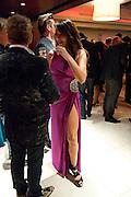 LIZZIE CUNDY, London Lifestyle Awards. Riverbank Park Plaza. London.6 October 2011. <br /> <br />  , -DO NOT ARCHIVE-© Copyright Photograph by Dafydd Jones. 248 Clapham Rd. London SW9 0PZ. Tel 0207 820 0771. www.dafjones.com.