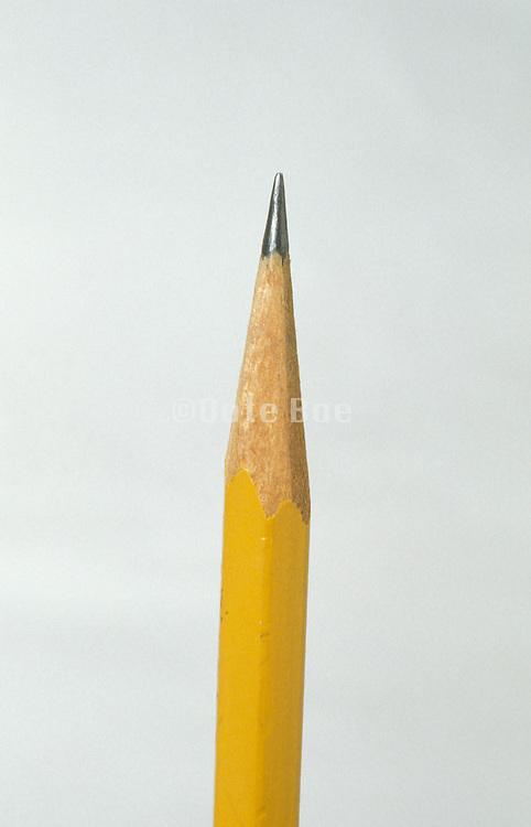 still life of pencil tip