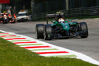 ERICSSON Marcus (Swe) / Caterham Renault Ct05 Action  during the 2014 Formula One World Championship, Italy Grand Prix from September 5th to 7th 2014 in Monza, Italy. Photo Florent Gooden / DPPI