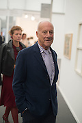 LADY FOSTER; LORD NORMAN FOSTER, Opening of Frieze Masters, Regents Park, London 12 October 2015