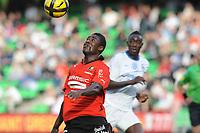 FOOTBALL - FRENCH CHAMPIONSHIP 2010/2011 - L1 - STADE RENNAIS v SM CAEN - 11/05/2011 - PHOTO PASCAL ALLEE / DPPI - ALEXANDER TETTEY (REN)