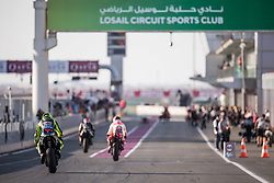 March 8, 2019 - Losail, Qatar - VALENTINO ROSSI - ITALIAN - MONSTER ENERGY YAMAHA MotoGP - YAMAHA (Credit Image: © Panoramic via ZUMA Press)