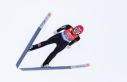 28.02.2019, Seefeld, AUT, FIS Weltmeisterschaften Ski Nordisch, Seefeld 2019, Nordische Kombination, Skisprung, im Bild Fabian Riessle (GER) // Fabian Riessle of Germany during the Ski Jumping competition for Nordic Combined of FIS Nordic Ski World Championships 2019. Seefeld, Austria on 2019/02/28. EXPA Pictures © 2019, PhotoCredit: EXPA/ JFK
