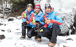 02.12.2015, Lillehammer, NOR, OESV, Nordische Kombinierer, Fotoshooting, im Bild Mario Seidl, Willi Denifl, Lukas Klapfer // Mario Seidl, Willi Denifl, Lukas Klapfer during the Photoshooting of the Ski Austria Nordic Combined Team in Lillehammer on 2015/12/02 . EXPA Pictures © 2015, PhotoCredit: EXPA/ JFK