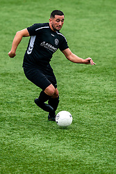 Volkan Cosgunfirat of VV Maarssen in action. First friendly match after the Corona outbreak. VV Maarssen lost the away match against big league Spakenburg 5-1 on 4 July 2020 in Spakenburg.