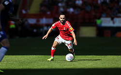 Erhun Oztumer of Charlton Athletic on the ball - Mandatory by-line: Arron Gent/JMP - 14/09/2019 - FOOTBALL - The Valley - Charlton, London, England - Charlton Athletic v Birmingham City - Sky Bet Championship