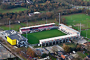 Nederland, Brabant, Oss, 15-11-2010. stadion FC Oss (TOP Oss).luchtfoto (toeslag), aerial photo (additional fee required).foto/photo Siebe Swart