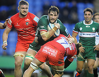 Rugby Union - 2019 / 2020 Gallagher Premiership - London Irish vs. Leicester Tigers<br /> <br /> Ruan Botha of London Irish at Madejski Stadium.<br /> <br /> COLORSPORT/ANDREW COWIE