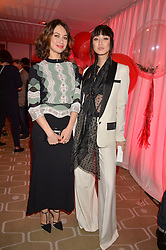 Left to right, Olga Kurylenko and Betty Bachz at the Gift of Life held at The Royal Festival Hall on South Bank, London England. 14 January 2017.