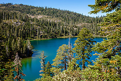 """""""Smith Lake 7"""" - Photograph of Smith Lake in California's Plumas National Forest."""
