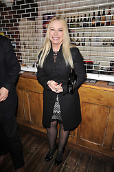 PAMELA STEPHENSON at the gala night party of Losing It staring Ruby Wax held at he Menier Chocolate Factory, 51-53 Southwark Street, London SE1 on 23rd February 2011.