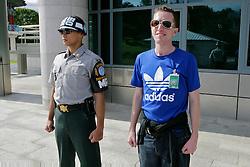 JSA Soldier & Dan O'Riordan, Panmunjeom, Joint Security Area