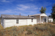 The outpost at Menor's Ferry Historic Site on the Snake River, Grand Teton National Park, Wyoming