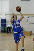 DESCRIZIONE : Roma Acqua Acetosa amichevole Nazionale Italia Donne<br /> GIOCATORE : Gaia Gorini<br /> CATEGORIA : tiro<br /> SQUADRA : Nazionale Italia femminile donne FIP<br /> EVENTO : amichevole Italia<br /> GARA : Italia Lazio Basket<br /> DATA : 27/03/2012<br /> SPORT : Pallacanestro<br /> AUTORE : Agenzia Ciamillo-Castoria/GiulioCiamillo<br /> Galleria : Fip Nazionali 2012<br /> Fotonotizia : Roma Acqua Acetosa amichevole Nazionale Italia Donne