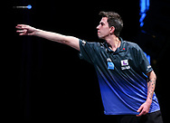 Michael Unterbuchner during the BDO World Professional Championships at the O2 Arena, London, United Kingdom on 5 January 2020.
