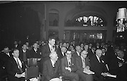 Annual Congress, GAA held in the Gresham Hotel, Dublin. 18.4.1965. 18th April 1965