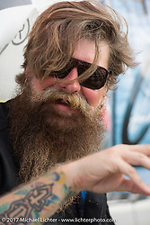 Jim Root of Slipknot at  <br /> Billy Lane's Sons of Speed vintage motorcycle racing during Biketoberfest. Daytona Beach, FL, USA. Saturday October 21, 2017. Photography ©2017 Michael Lichter.