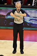 DESCRIZIONE : Pistoia Lega A 2014-2015 Giorgio Tesi Group Pistoia Granarolo Bologna<br /> GIOCATORE : Roberto Chiari Arbitro<br /> CATEGORIA : arbitro<br /> SQUADRA : arbitro<br /> EVENTO : Campionato Lega A 2014-2015<br /> GARA : Giorgio Tesi Group Pistoia Granarolo Bologna<br /> DATA : 09/11/2014<br /> SPORT : Pallacanestro<br /> AUTORE : Agenzia Ciamillo-Castoria/GiulioCiamillo<br /> GALLERIA : Lega Basket A 2014-2015<br /> FOTONOTIZIA : Pistoia Lega A 2014-2015 Giorgio Tesi Group Pistoia Granarolo Bologna<br /> PREDEFINITA :