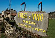 Cheese and wine shop Bodega La Setera, DO Arribes del Duero spain castile and leon