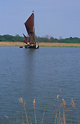 AREKHA Sailing barge Cygnet River Alde Snape Suffolk England