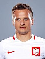 Uefa - World Cup Fifa Russia 2018 Qualifier / <br /> Poland National Team - Preview Set - <br /> Sławomir Peszko