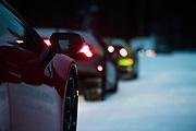 Lamborghini Winter Accademia program, Lac Sacacomie Quebec.
