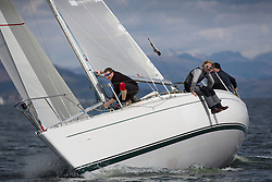 RWYC's Savills Kip Regatta  9-10th May 2015 <br /> Excellent conditions for the opening racing of the Clyde Season<br /> <br /> Sigma 33, GBR4294, Odyssey II, Harold Hood<br /> <br /> Credit : Marc Turner / PFM