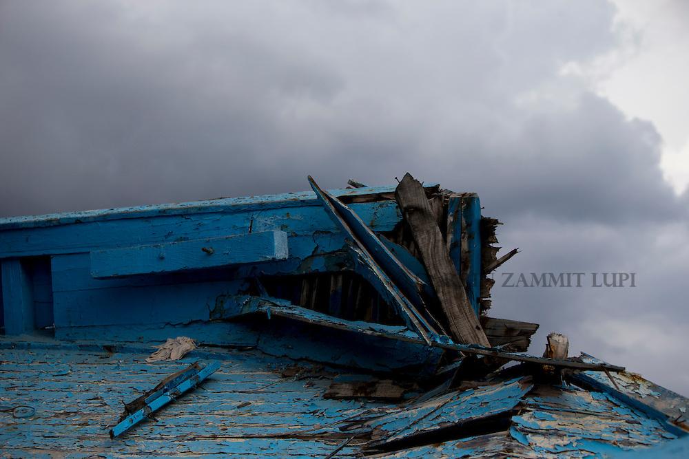 Lampedusa grave yard<br /> Photo: Darrin Zammit Lupi/MOAS