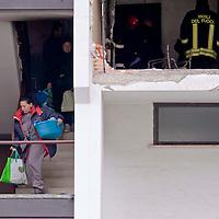Roma, esplode bombola in edificio, 1 morto