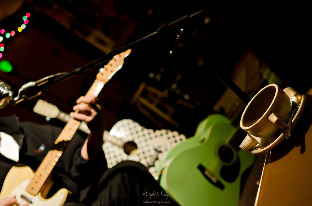Eric Sommer playing after his performance at the Bus Stop Music Cafe in Pitman, NJ - January of '12.