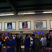 The betting area at Belmont Park during the Jockey Club Gold Cup Day, Belmont Park, New York. USA. 28th September 2013. Photo Tim Clayton