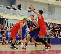 Bristol Flyers Tamas Okros - Photo mandatory by-line: Dougie Allward/JMP - Mobile: 07966 386802 - 23/05/2015 - SPORT - Basketball - Bristol - SGS Wise Campus - Bristol Flyers v  - Bristol Flyers All-Star Game