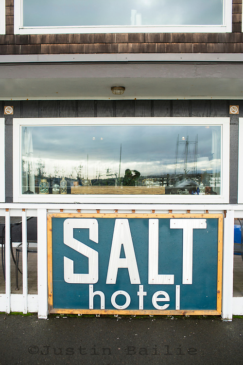Salt Hotel in Ilwaco, WA.