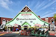 Wheel Fun Rentals at Shoreline Village