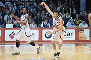 DESCRIZIONE : Caserta campionato serie A 2013/14 Pasta Reggia Caserta EA7 Olimpia Milano<br /> GIOCATORE : Michele Vitali<br /> CATEGORIA : esultanza<br /> SQUADRA : Pasta Reggia Caserta<br /> EVENTO : Campionato serie A 2013/14<br /> GARA : Pasta Reggia Caserta EA7 Olimpia Milano<br /> DATA : 27/10/2013<br /> SPORT : Pallacanestro <br /> AUTORE : Agenzia Ciamillo-Castoria/GiulioCiamillo<br /> Galleria : Lega Basket A 2013-2014  <br /> Fotonotizia : Caserta campionato serie A 2013/14 Pasta Reggia Caserta EA7 Olimpia Milano<br /> Predefinita :