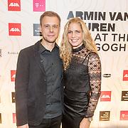 NLD/Amsterdam/20161021 - Armin van Buuren Live at the Van Gogh Museum, Armin en partner Erika van Thiel