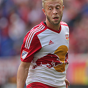 HARRISON, NEW JERSEY- OCTOBER 16:  Mike Grella #13 of New York Red Bulls in action during the New York Red Bulls Vs Columbus Crew SC MLS regular season match at Red Bull Arena, on October 16, 2016 in Harrison, New Jersey. (Photo by Tim Clayton/Corbis via Getty Images)