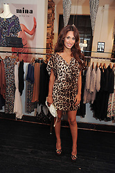 PREEYA KALIDAS at a party to celebrate the opening of the new Mina Store at 36-38 Great Titchfield Street, London W1W 8BQ on 9th September 2010.  The party was sponsored by Ivan the Terrible Vodka.