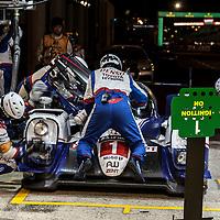 Toyota Racing Toyota TS040 Hybrid #1 Anthony Davidson, Sebastien Buemi, Kazuki Nakajima, Le Mans 24hr 2015