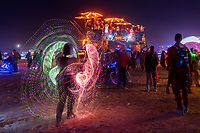 Surrealee Spinning LED Whips - https://Duncan.co/Burning-Man-2021